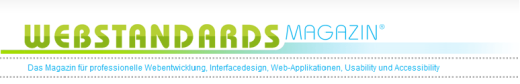 Webstandards-magazin in